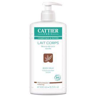 Leche Hidratante Corporal Suavizante Cattier - 500 ml.