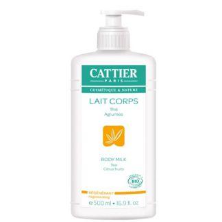 Leche Hidratante Corporal Regeneradora Cattier - 500 ml.