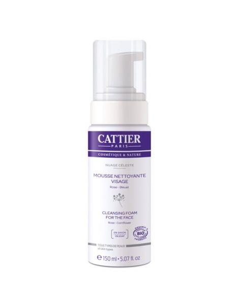 Espuma Limpiadora Facial Cattier - 150 ml.