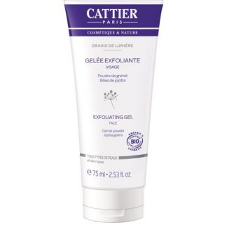 Gel Exfoliante Facial Grains de Lumière Cattier - 75 ml.