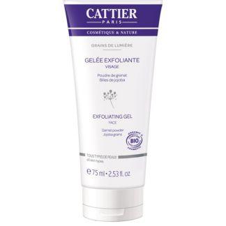 Gel Exfoliante Facial Grains de Lumière Cattier - 75 ml.