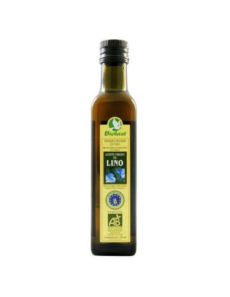 Aceite de Lino Ecológico Biolasi - 250 ml.