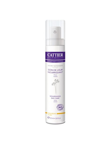 Crema Nutritiva de Día Secret Botanique Cattier - 50 ml.