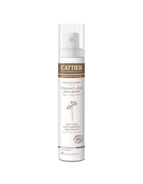 Crema Tratamiento Antiedad y Antiarrugas Nectar Éternel Cattier - 50 ml.