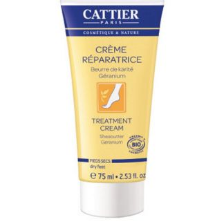 Crema Reparadora para Pies Secos Cattier - 75 ml.