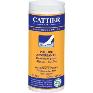 Polvos Absorbentes Desodorantes para Pies Cattier - 65 gramos