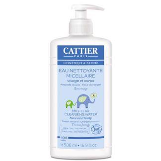 Agua Limpiadora Micelar Bebé Cattier - 500 ml.
