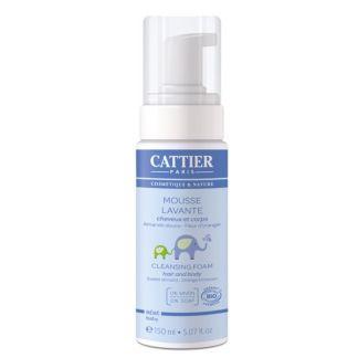 Espuma Limpiadora Bebé Cattier - 150 ml.