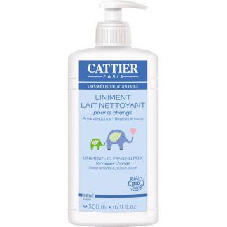 Linimento Bebé (Cambio de Pañal) Cattier - 500 ml.