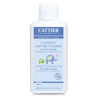 Linimento Bebé (Cambio de Pañal) Cattier - 200 ml.