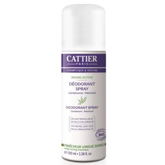 Desodorante Spray Brume Active Cattier - 100 ml.