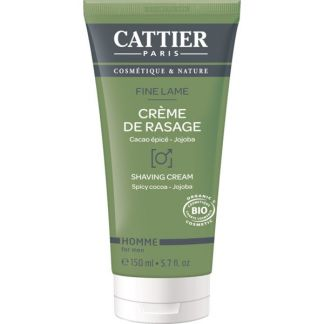 Crema de Afeitar Fine Lame Cattier - 150 ml.