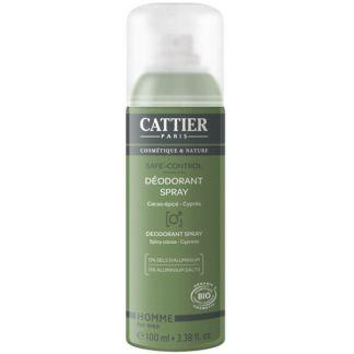 Desodorante Spray para Hombre Safe-Control Cattier - 100 ml.