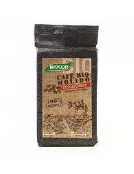 Café Molido Bio 100% Arábica Descafeinado Biocop - 250 gramos