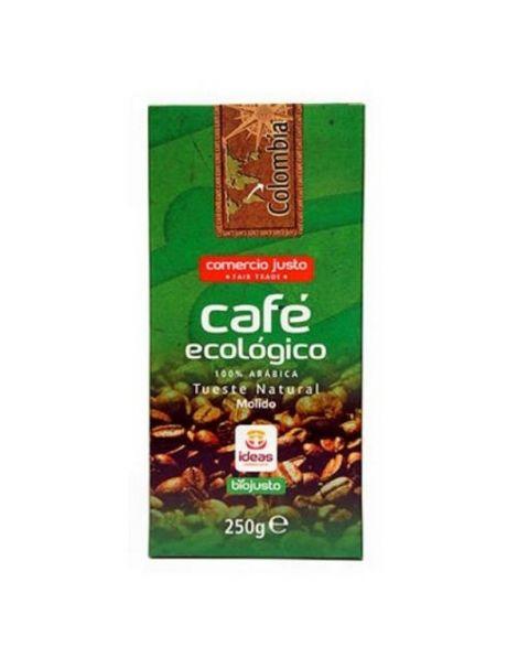 Café Molido Bio Arábica Colombia Ideas - 250 gramos