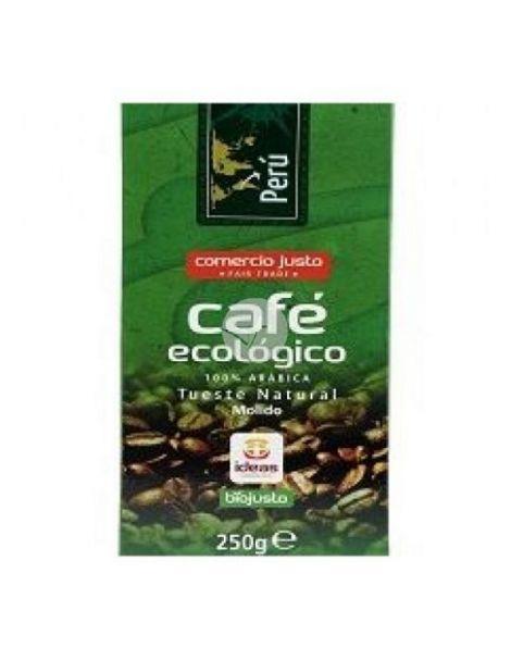 Café Molido Bio Arábica Perú Ideas - 250 gramos