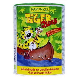 Cacao Soluble Tiger Quick Instant Bio Rapunzel - 400 gramos