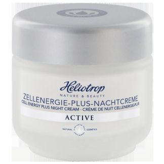 Crema de Noche Energy Plus Active Heliotrop - 50 ml.