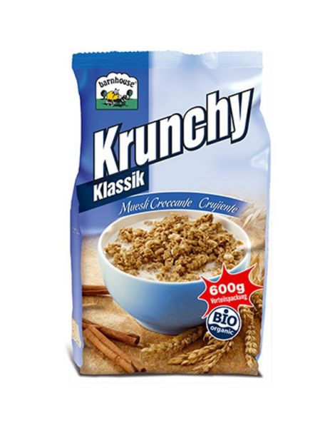 Muesli Krunchy Classic Bio Barnhouse - 600 gramos