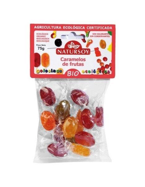 Caramelos 5 Sabores Bio Natursoy - 75 gramos