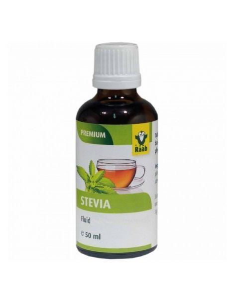 Stevia (Estevia) Premium Líquida Raab - 50 ml.