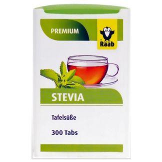Stevia (Estevia) Premium Raab - 300 comprimidos