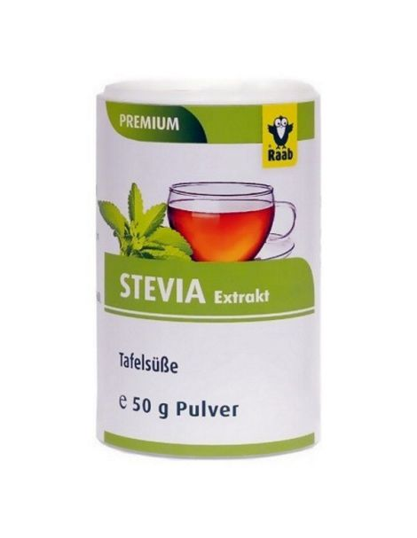 Stevia (Estevia) Premium Polvo Raab - 13 gramos