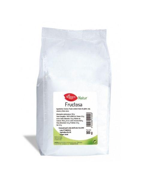 Fructosa El Granero Integral - 500 gramos