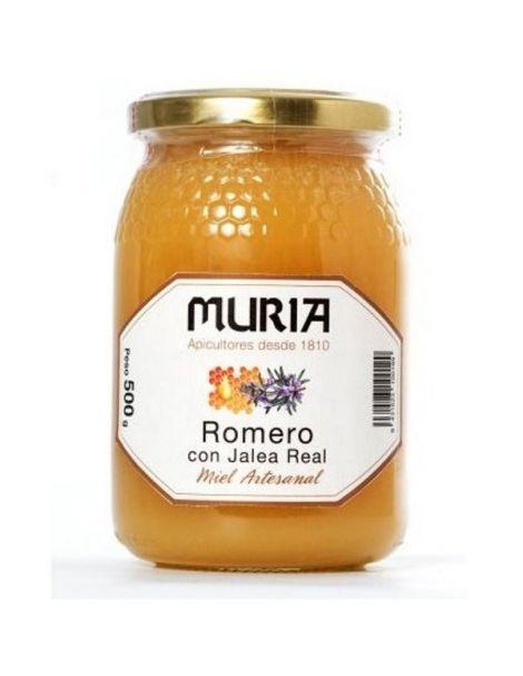 Miel de Romero con Jalea Real Muria - 500 gramos