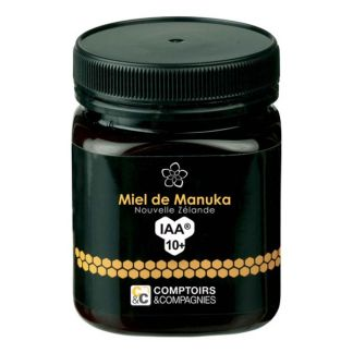 Miel de Manuka IAA 10+ Comptoirs & Compagnies - 250 gramos