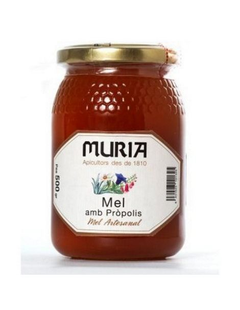 Miel de Alta Montaña con Propóleos Muria - 500 gramos