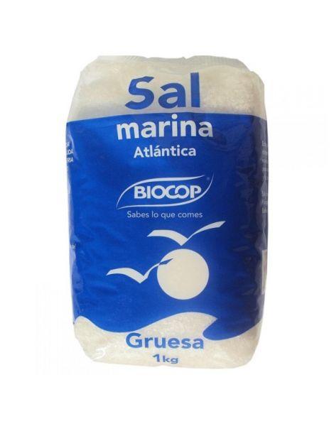 Sal Marina Atlántica Gruesa Biocop - 1000 gramos