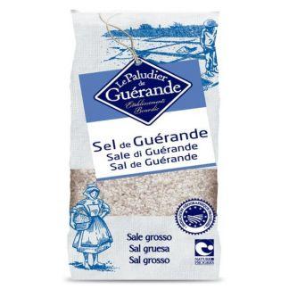 Sal Gris de Bretaña Gruesa (Guérande) Le Paludier - 1000 gramos