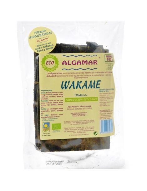 Alga Wakame Eco Algamar - 100 gramos