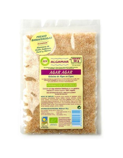 Alga Agar Agar Eco Algamar - 50 gramos