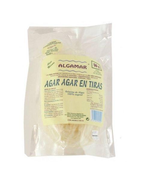Alga Agar Agar en Tiras Eco Algamar - 50 gramos