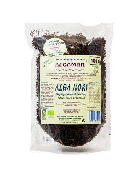 Alga Nori Copos Eco Algamar - 100 gramos