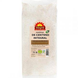 Harina de Centeno Integral Bio Biográ - 500 gramos