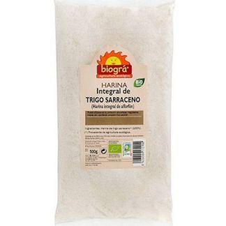 Harina de Trigo Sarraceno Integral Bio Biográ - 500 gramos
