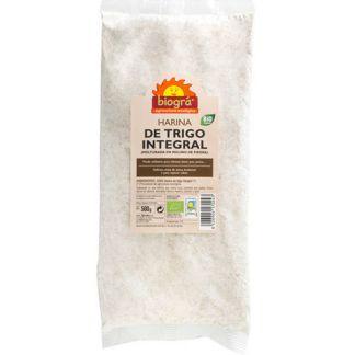 Harina de Trigo Integral Bio Biográ - 500 gramos