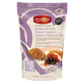 Semillas de Lino, Girasol, Calabaza, Sésamo y Goji Molidas Linwoods - 425 gramos