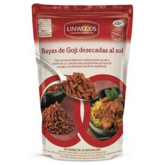 Bayas de Goji Desecadas al Sol Linwoods - 250 gramos