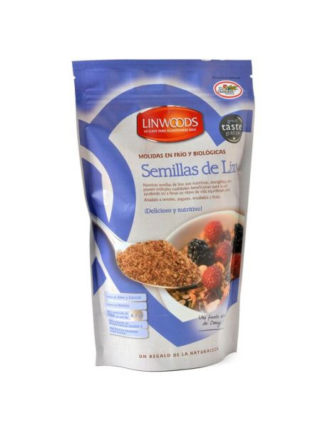 Semillas de Lino Molidas Linwoods - 425 gramos