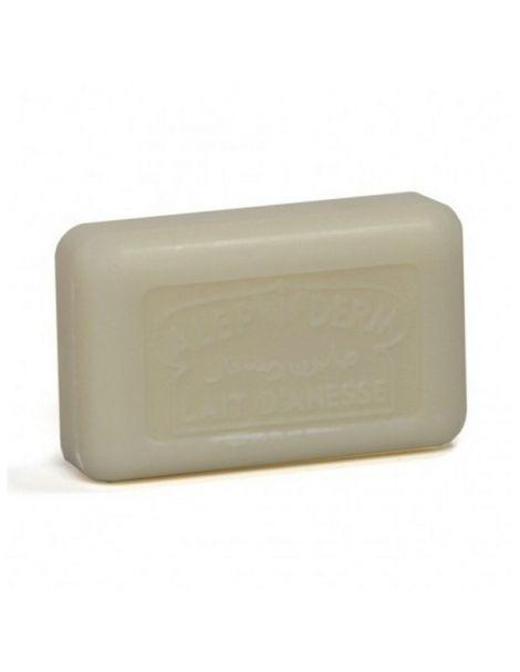 Jabón de Alepo 24% con Leche de Burra - pastilla de 125 gramos