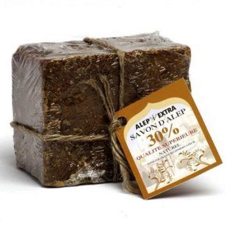 Jabón de Alepo 30% - pastilla de 200 gramos