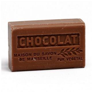 Jabón Marsella de Chocolate - pastilla de 125 gramos