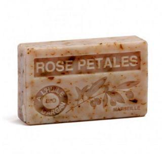 Jabón Marsella de Pétalos de Rosa - pastilla de 125 gramos