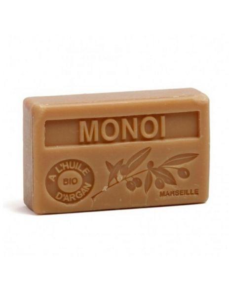 Jabón Marsella de Monoi de Tahití - pastilla de 125 gramos
