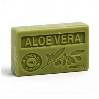 Jabón Marsella de Aloe Vera - pastilla de 125 gramos