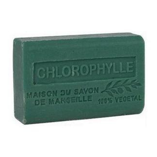 Jabón Marsella de Clorofila - pastilla de 125 gramos